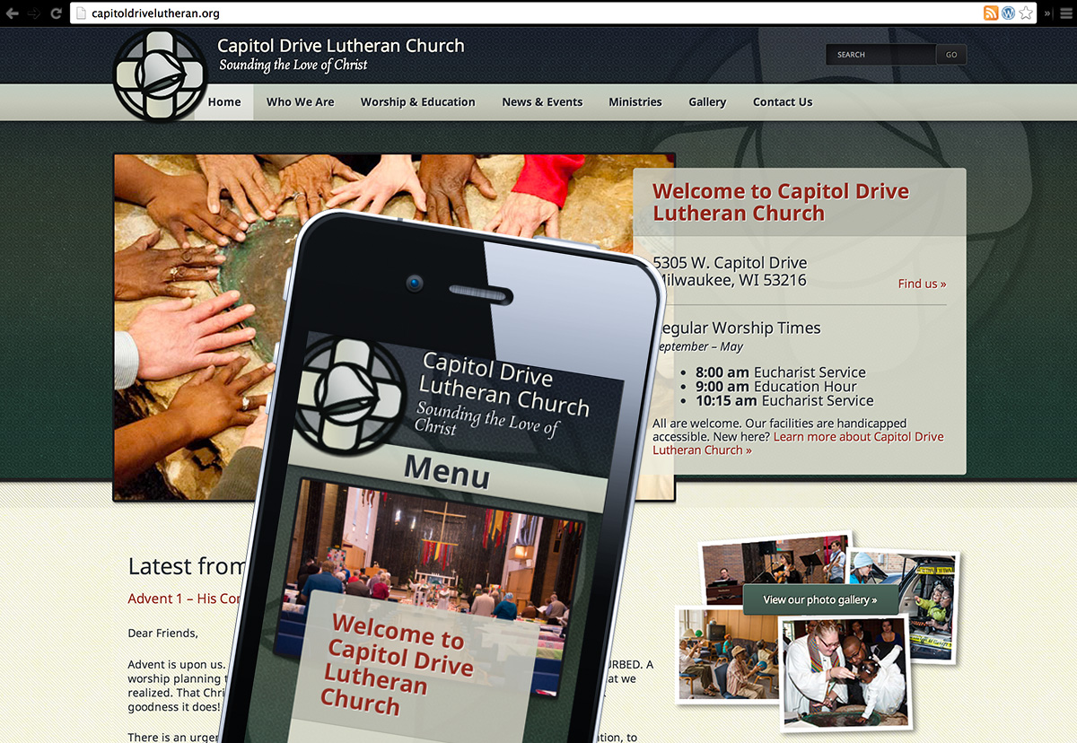 capitol drive lutheran church website